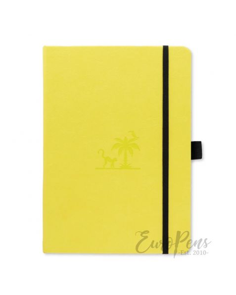 Dingbats Earth A5+ Lime Yasuni Notebook - Dotted Earth [D5623L]