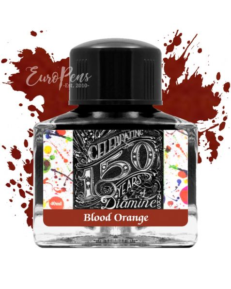 Diamine 40ml - Anniversary Bottled Ink - Blood Orange