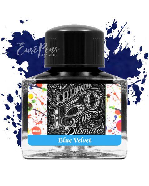 Diamine 40ml - Anniversary Bottled Ink - Blue Velvet