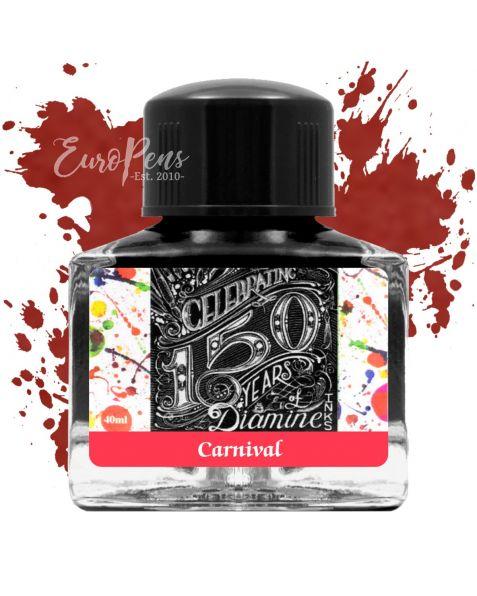 Diamine 40ml - Anniversary Bottled Ink - Carnival Red