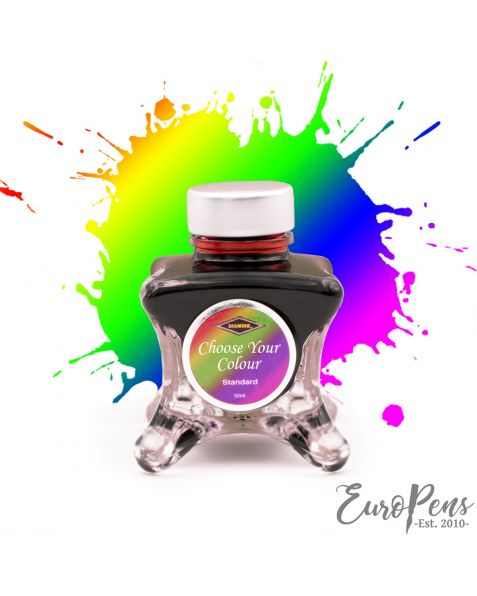 Diamine Inkvent 50ml Sheen Ink Bottle - Choose your colour