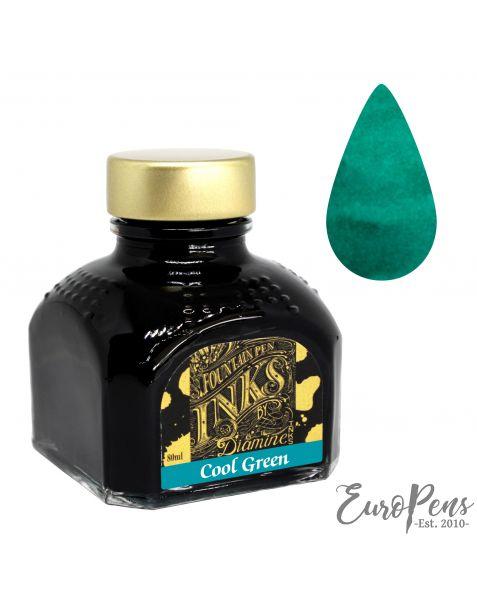 Diamine 80ml Bottled Ink - Dark / Cool Green