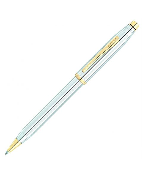 CROSS Classic Century Medalist Ballpoint Pen with 23 Carat Gold Plated Appointments  - FREE ENGRAVING