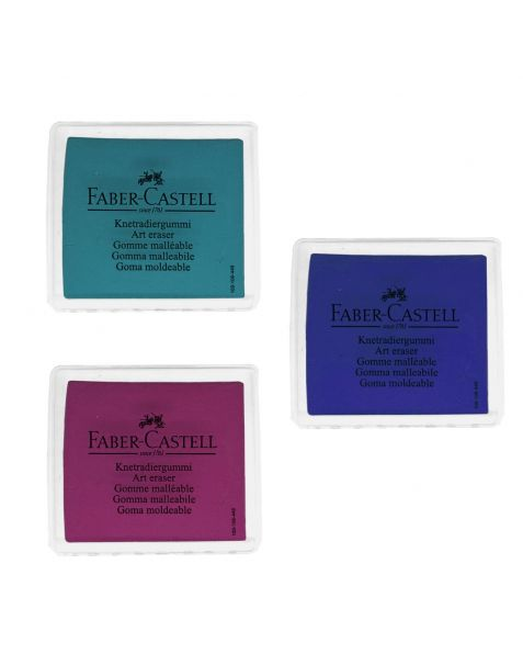 Faber Castell Kneadable Eraser (127220) Mixed Colours