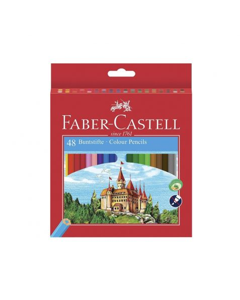 Faber Castell Coloured Pencils (120148) Pack of 48