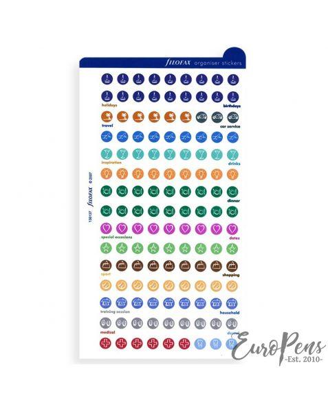 Filofax Personal/A5/A4 Organiser Stickers