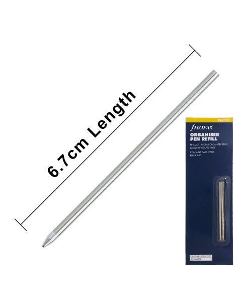 "Filofax Ballpoint Pen Refills ""D1 Format Refills"" (2 Pack)"