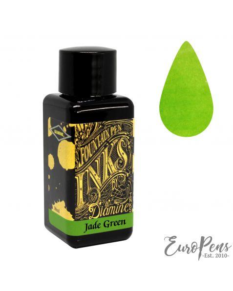 Diamine 30ml Bottled Ink - Jade Green