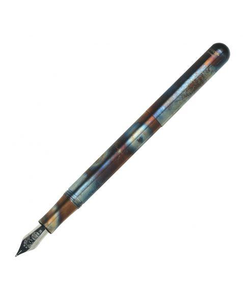Kaweco Liliput Fountain Pen- Fireblue - 1.5mm Steel Calligraphy Nib