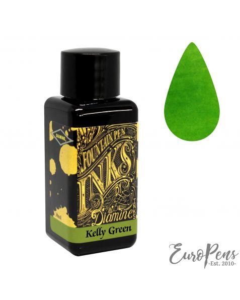 Diamine 30ml Bottled Ink - Kelly Green