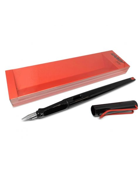 LAMY joy Calligraphy Fountain Pen - Black and Red (015)