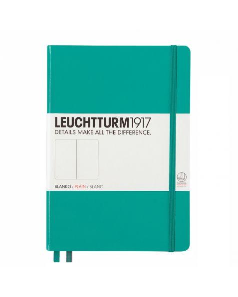 Leuchtturm1917 Notebook (A5) classic Hardcover-Emerald-Plain