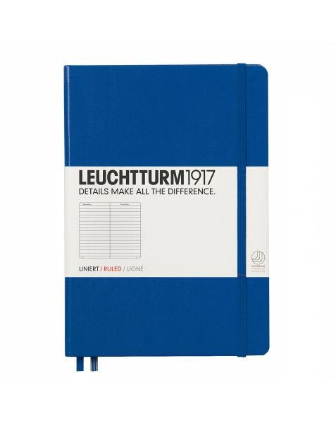 Leuchtturm1917 Notebook (A5) classic Hardcover-Royal Blue-Ruled