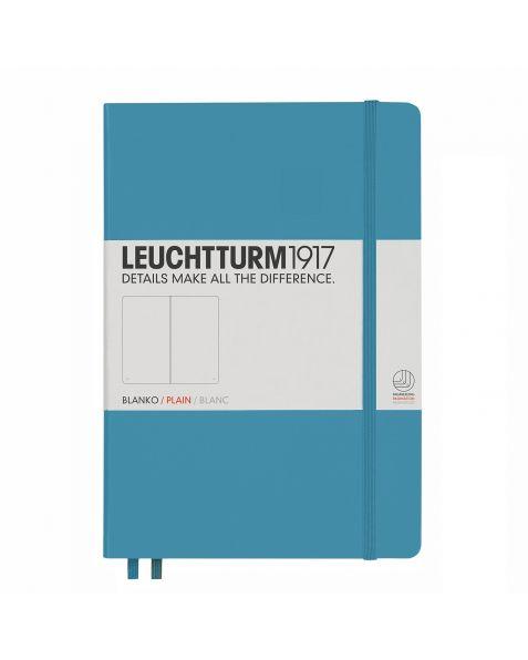 Leuchtturm1917 Notebook (A5) classic Hardcover-Nordic Blue-Plain