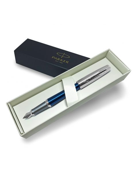 Parker Urban Premium Dark Blue Fine Nib Fountain Pen