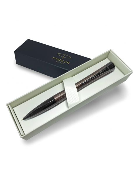 Parker Urban Metallic Brown with Lines Ballpoint Pen