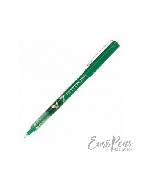 Pilot Hi-Tecpoint V7 Rollerball Pen - Green