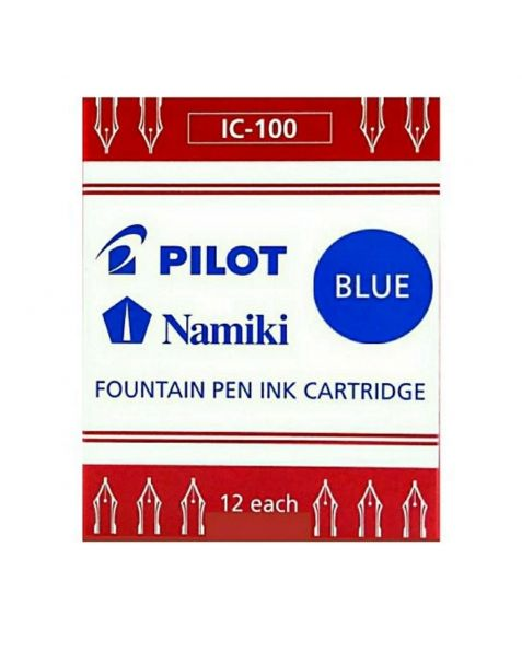 Pilot Parallel Pen Ink Cartridges (IC-100) - Blue