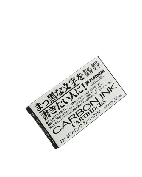 Platinum Ink Cartridges - Carbon Black (4 Pack)