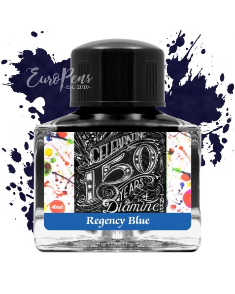 Diamine 40ml - Anniversary Bottled Ink - Regency Blue