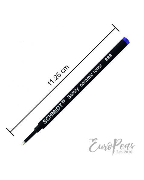 Schmidt 888  Standard Rollerball Pen Refill - Broad - Blue