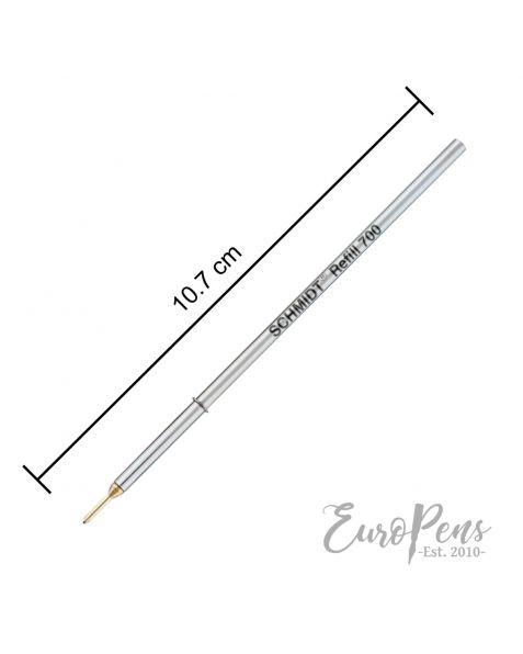 Schmidt 700 A2 Ballpoint Pen Refill - Black