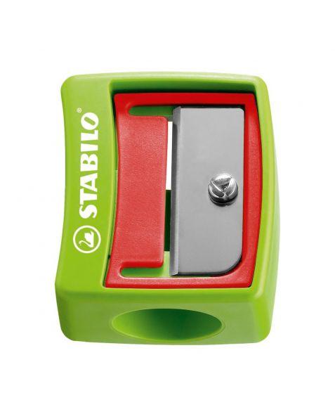 STABILO Woody Sharpener - Green - 4548/12