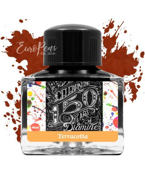 Diamine 40ml - Anniversary Bottled Ink - Terracotta Orange