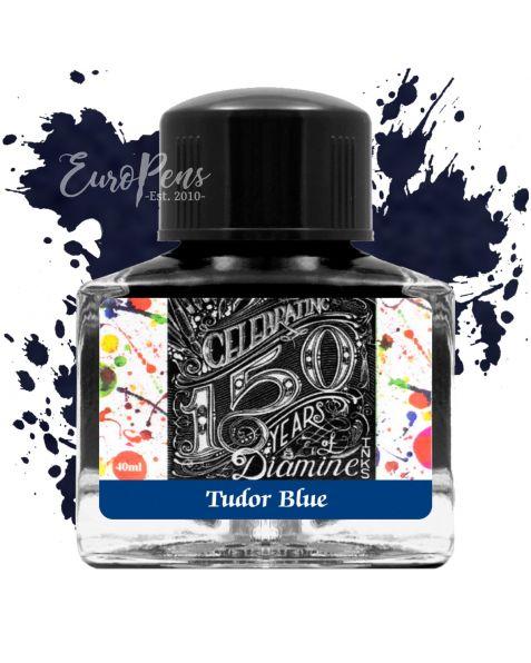 Diamine 40ml - Anniversary Bottled Ink - Tudor Blue