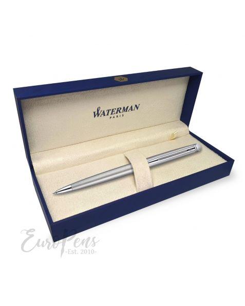 Waterman Hemisphere Ballpoint Pen - Stainless Steel With Chrome Trim